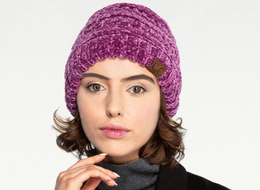 Cozy Chenille Hat - Bates Boutique