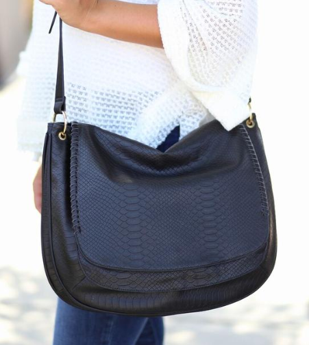 Be The Messenger Bag - Black - Bates Boutique