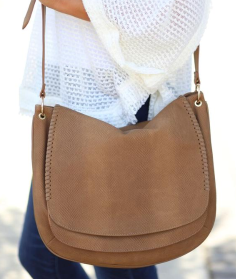 Be The Messenger Bag - Khaki - Bates Boutique