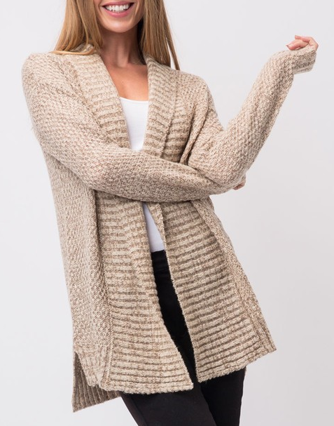 Breath With No Air Cardigan - Bates Boutique