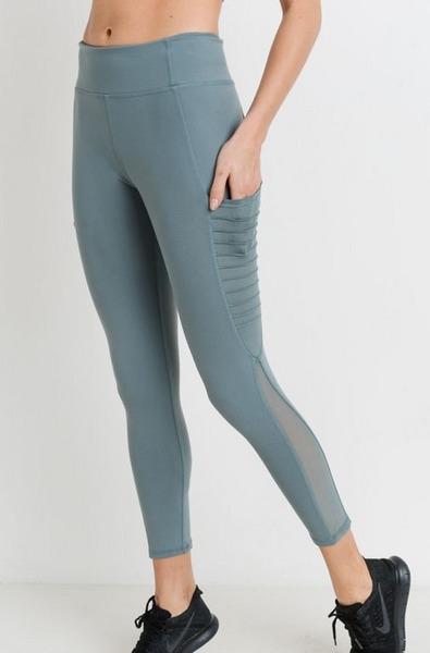 Ashland Heights Pants - Dusty Blue - Bates Boutique