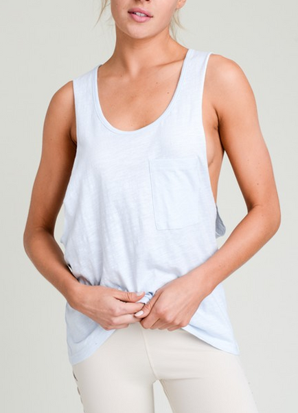 Allison Park Tank - Sky Blue - Bates Boutique