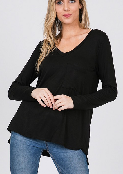 Everyday Wear Me Top - Black