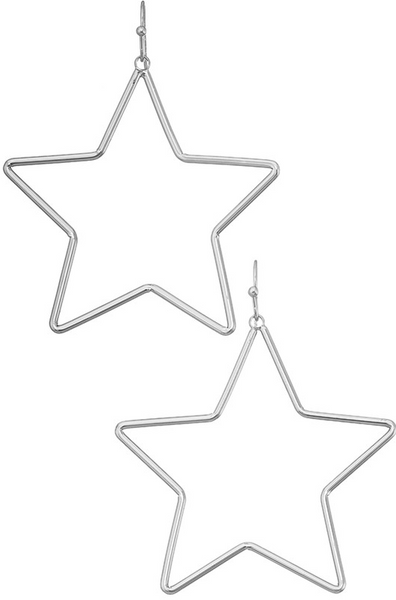 Be My Star Earrings - Bates Boutique