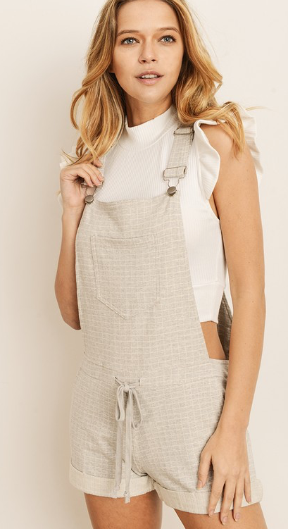 All Around The World Overalls - Bates Boutique