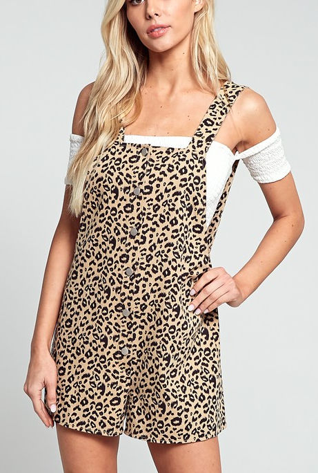 Cat Eyes Overalls - Bates Boutique