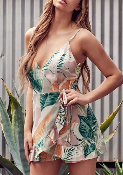 Tropical Punch Romper