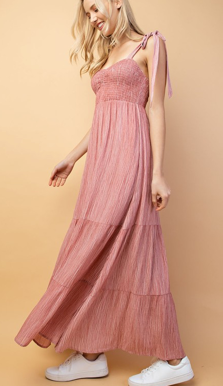 Pretty In Pink Maxi Dress