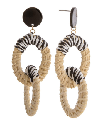 Cocoa Earrings - Bates Boutique