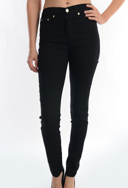 Women In Black Jeans