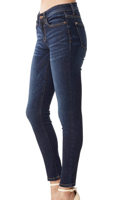 On The Rise Dark Jeans