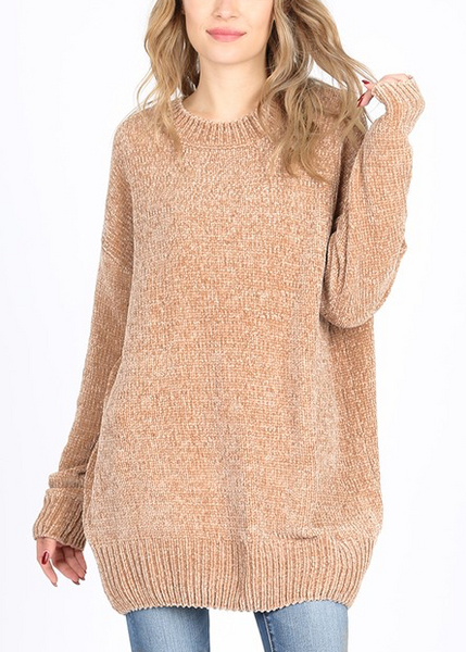 Quality Time Sweater - Mocha