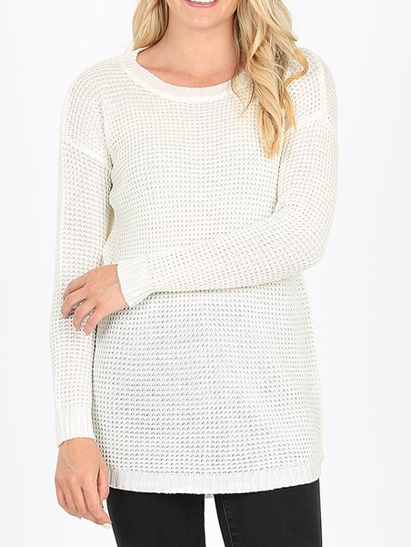 Sinking Fast Sweater - Ivory