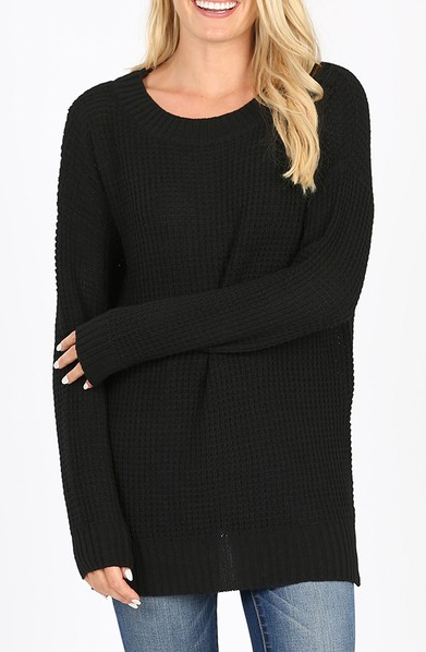 Easy Living Sweater - Black