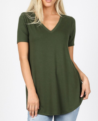Piece Of Art Top - Army Green