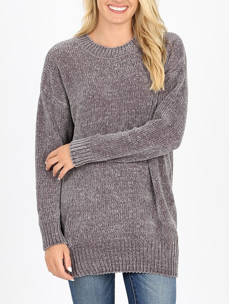 Quality Time Sweater - Ash Grey
