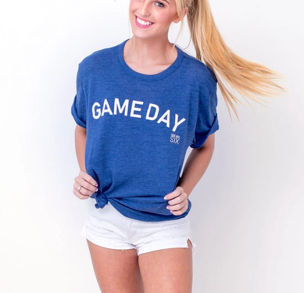 Game Day Tee - Blue