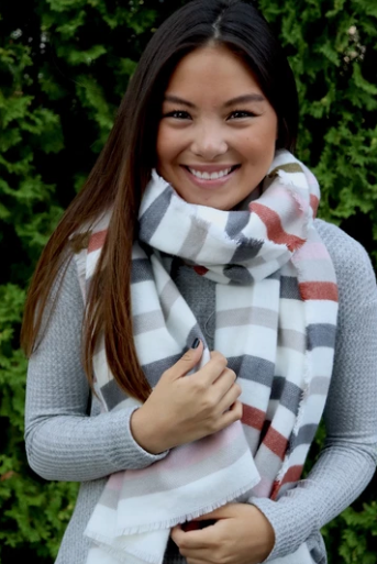 Stellar Striped Scarf