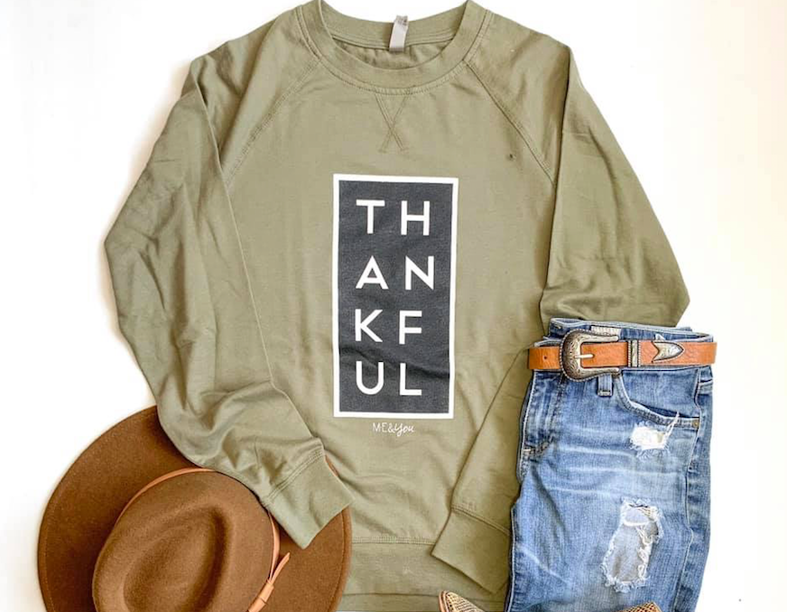 Thankful Pullover - Olive