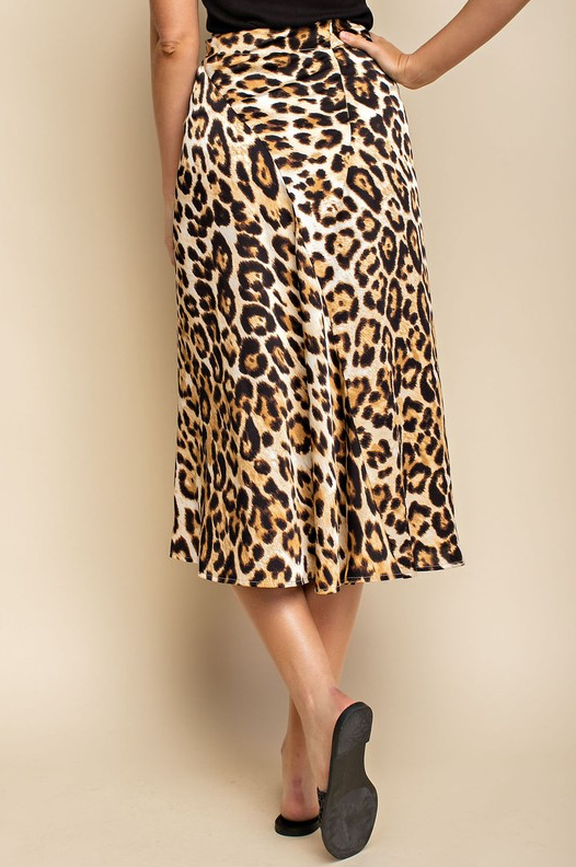 Wild Life Skirt - Cheetah