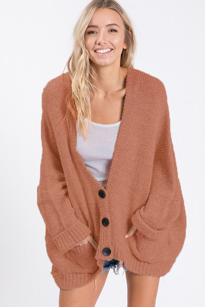 Cozy By The Camp Cardigan