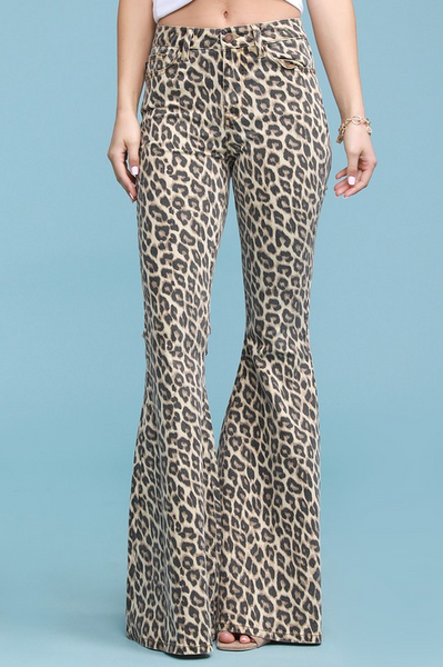 Chic In Cheetah Flares