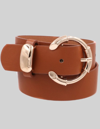 Dime Piece Belt - Brown