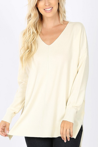 Wardrobe Malfunction Sweater - Cream