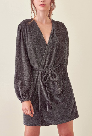 Wrap That Robe Dress