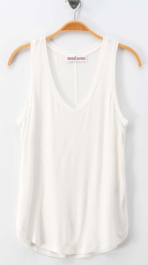 Sew Simple Tank - Off White