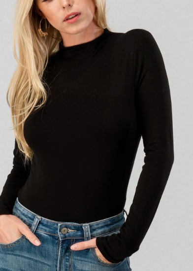 Night Owl Bodysuit - Black