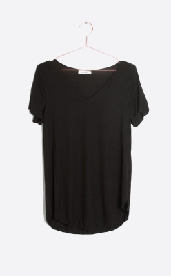 Everyday Short Sleeve Top - Black