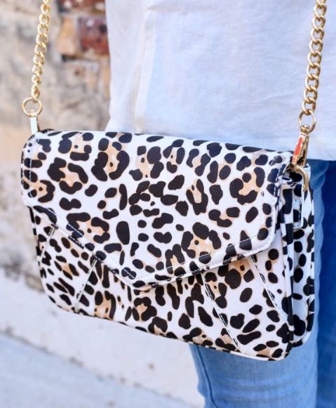 Lauren Crossbody - Leopard