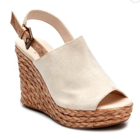 Frisco Wedges - Ivory