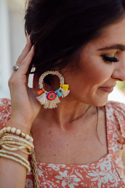 Ratzen Earrings - Multi