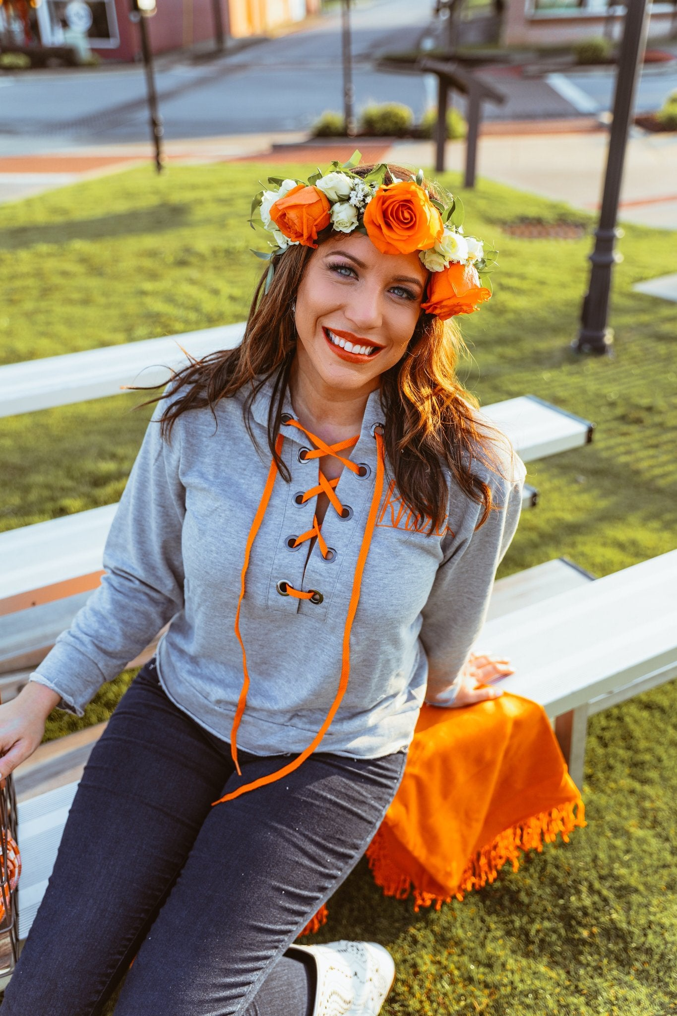 Lace Up Knoxville Hoodie