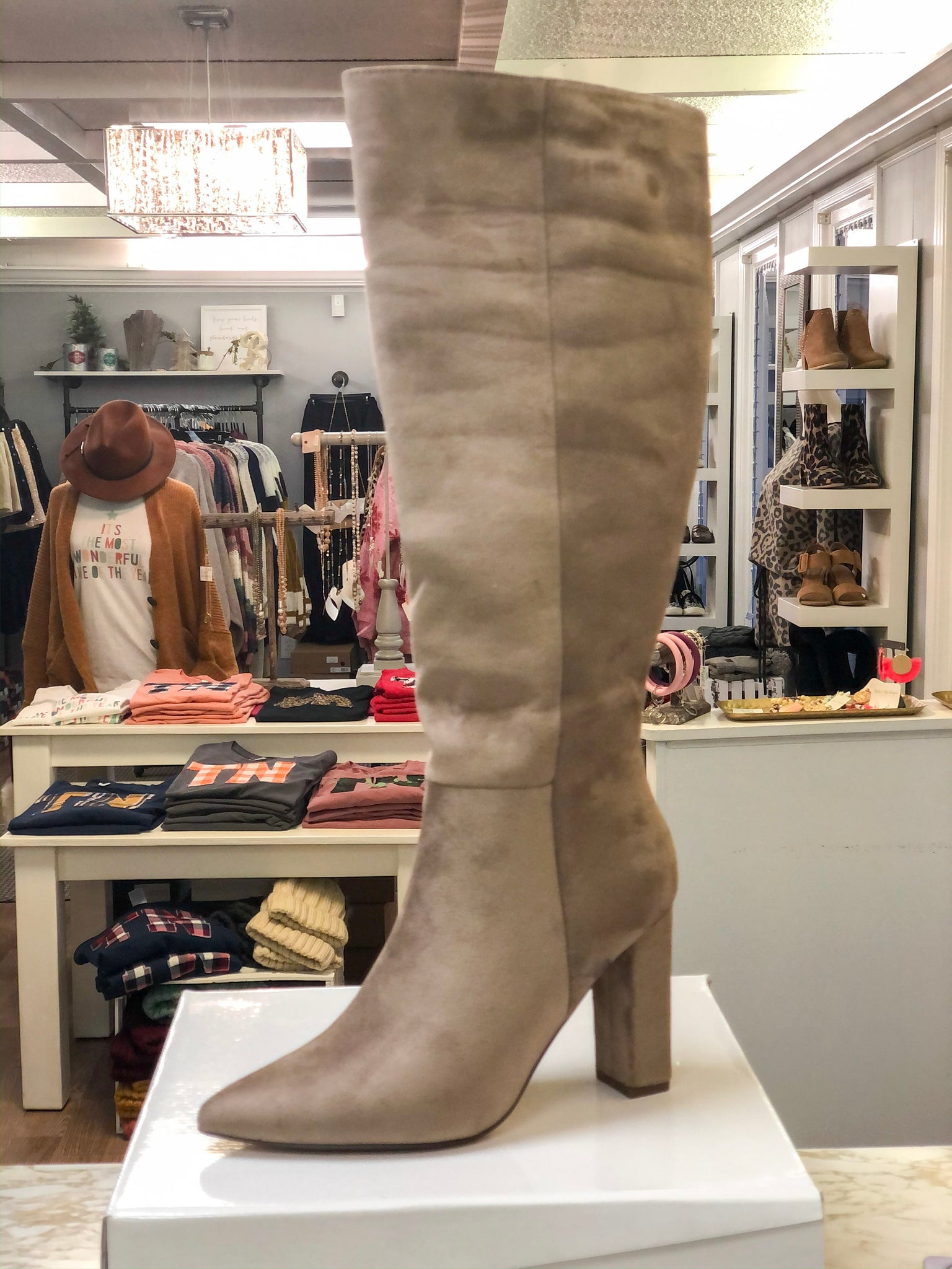 Walk In Motion Boots - Taupe