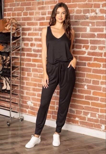 Rainy Days Jumpsuit - Black