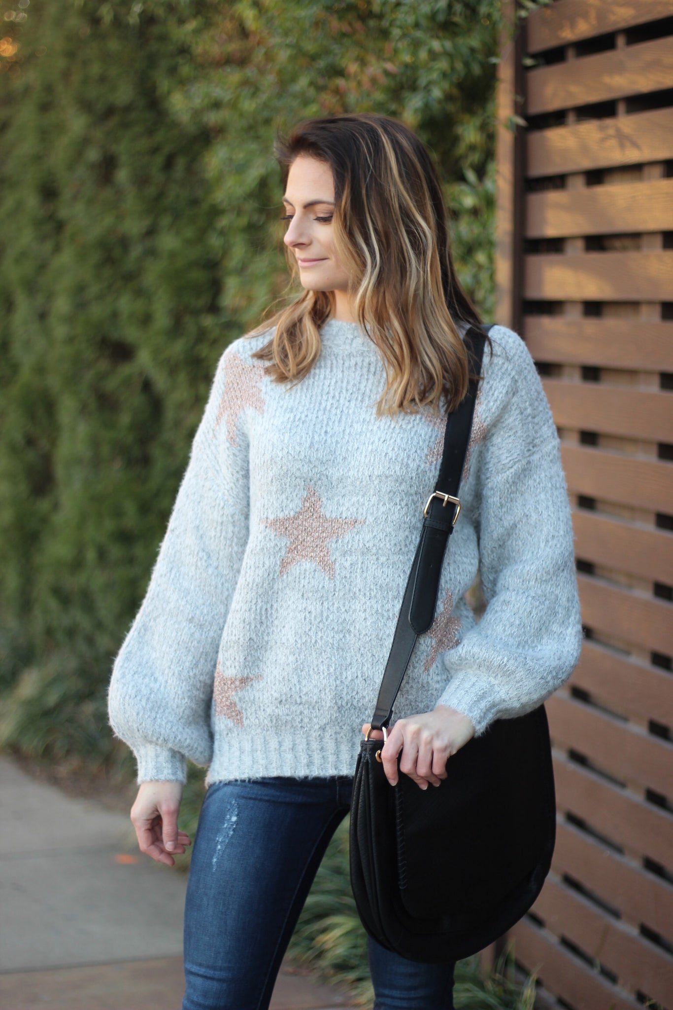 Born A Star Sweater - Bates Boutique