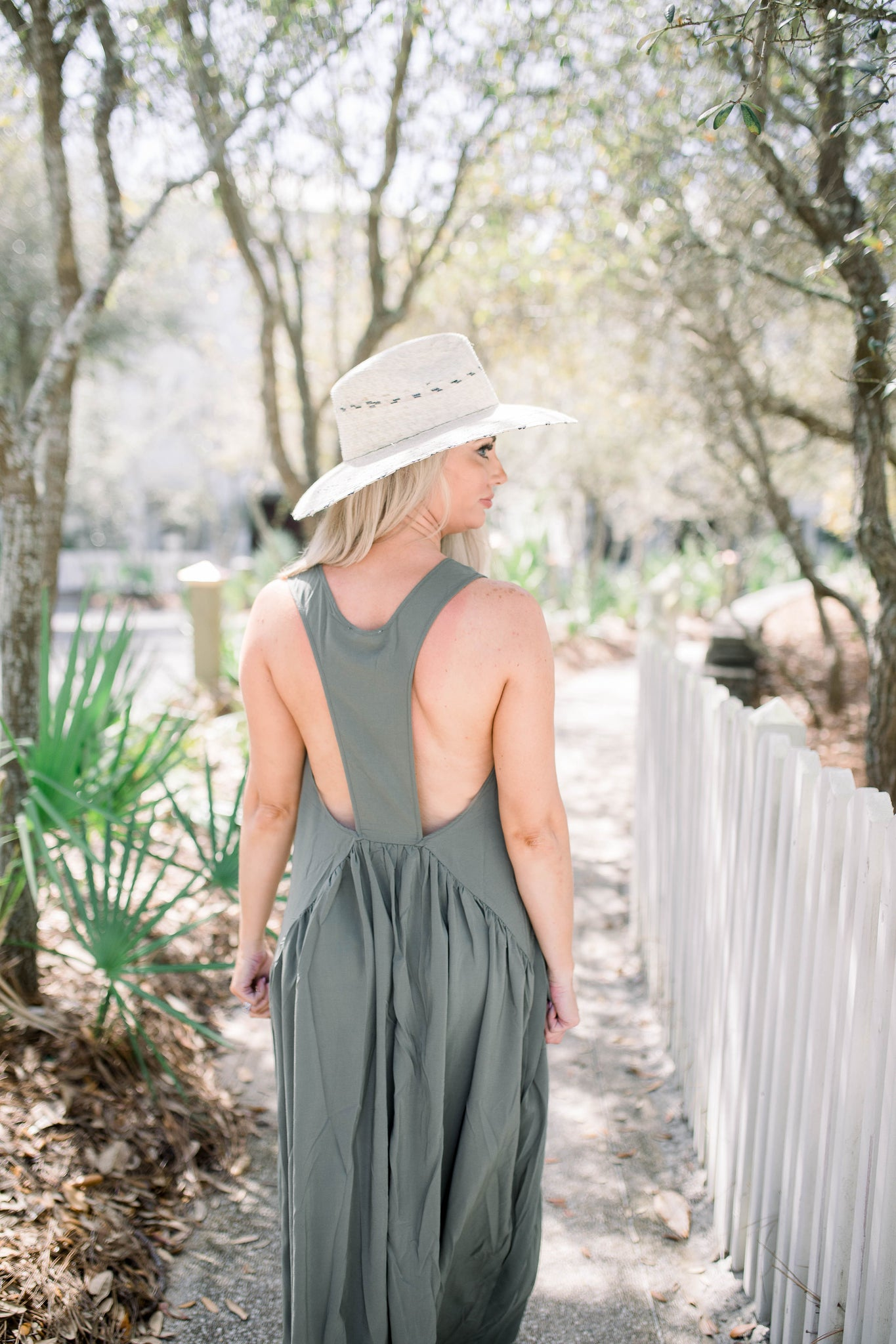 Saving Grace Dress - Olive