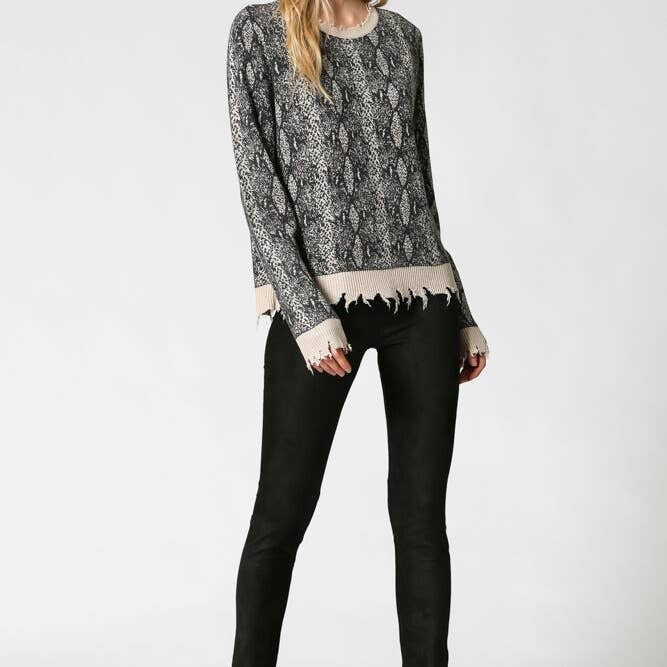Must Be Fate Sweater - Taupe