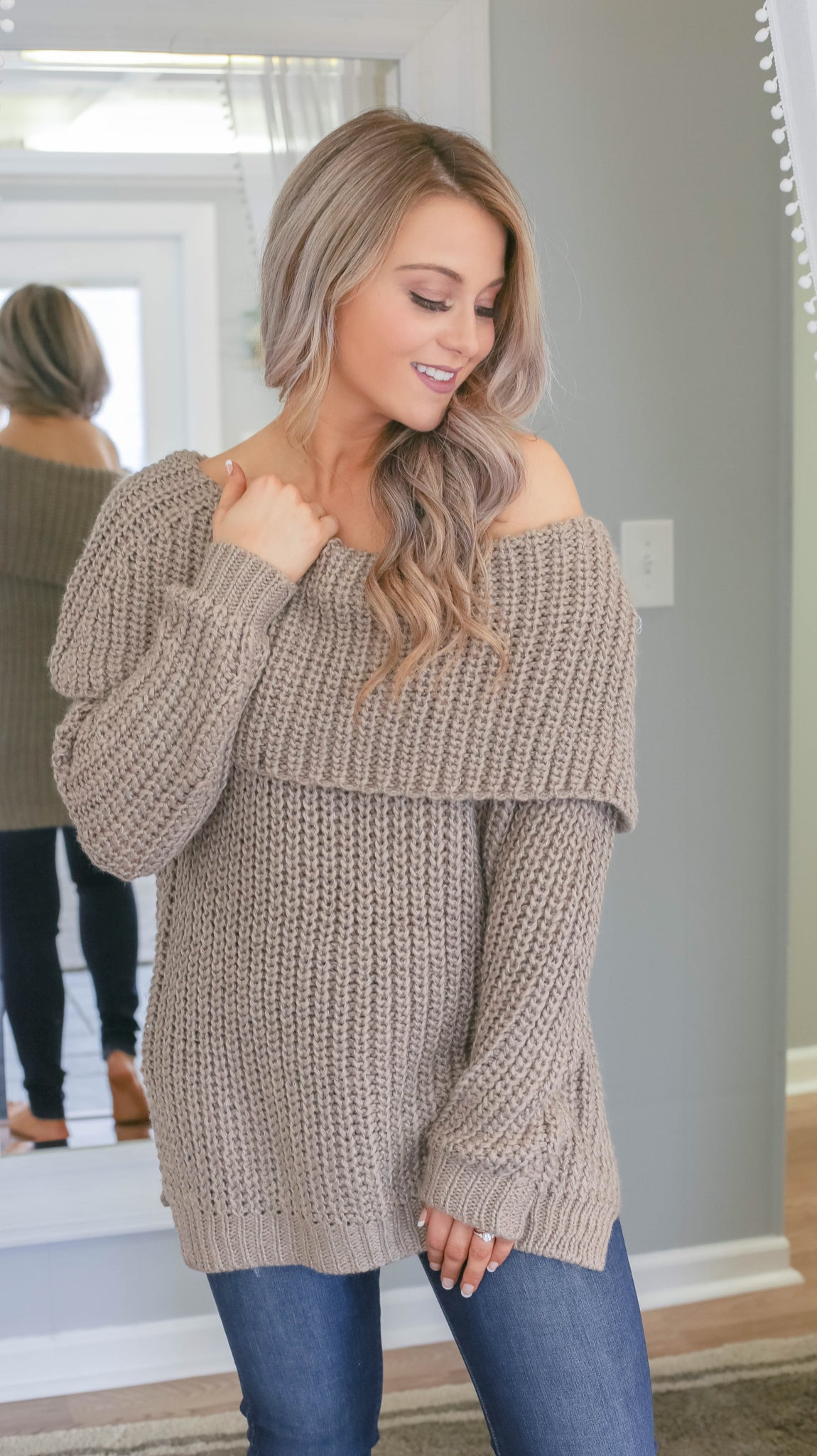 Chilly Night Out Sweater - Bates Boutique
