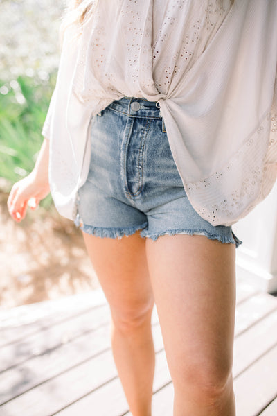 Mariana Denim Shorts