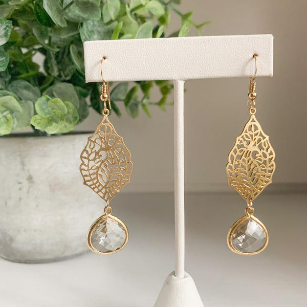 Athena Earrings - Gold