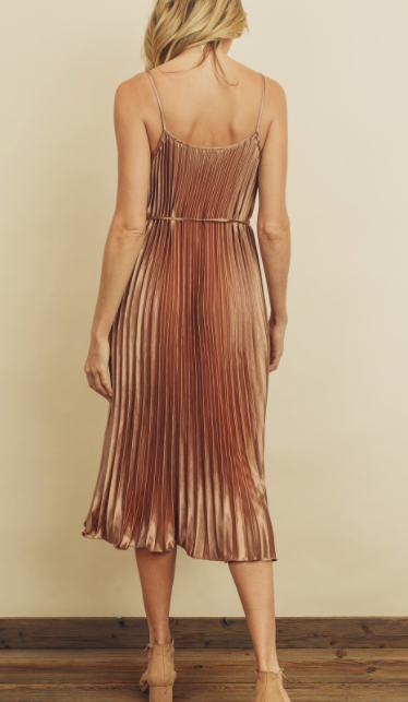 Chick Flick Dress - Bronze