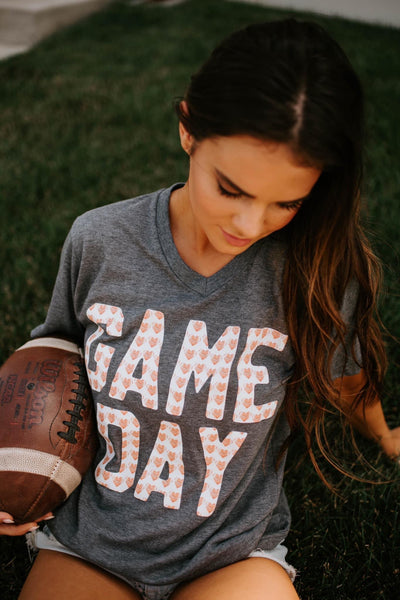 Game Day Tee - Charcoal