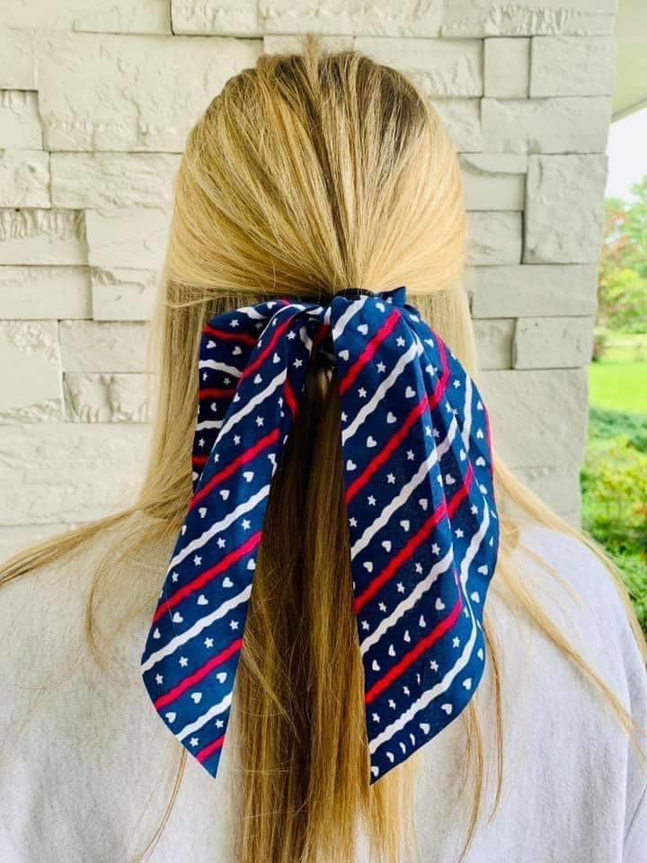 Heart Star Hair Scarf