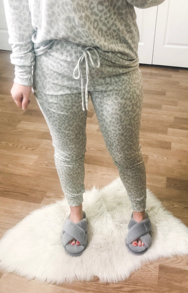 Likely Lounge Pants - Leopard