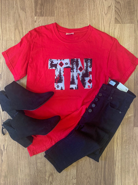 TN Red Reindeer Tee