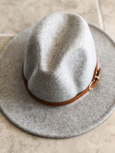 Turn Key Hat - Grey